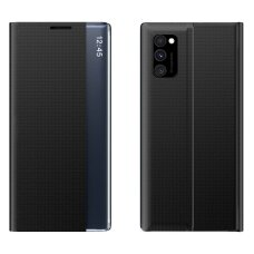 New Sleep Case atverčiamas dėklas, turintis atramos fukciją Samsung Galaxy A71 juodas UCS024