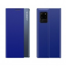 NEW SLEEP CASE ATVERČIAMAS DĖKLAS, TURINTIS ATRAMOS FUNKCIJĄ Samsung Galaxy M51 Mėlynas