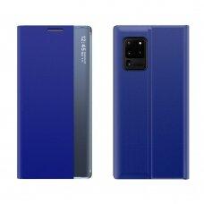 Atverčiamas dėklas New Sleep Case Bookcase Type Case Samsung Galaxy S20 FE 5G Mėlynas