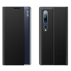 New Sleep Case Atverčiamas Dėklas Xiaomi Mi 10 Pro / Xiaomi Mi 10 Juodas