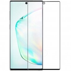 Nillkin 3D Cp+Max Ultra Thin Pilnai Ekraną Dengiantis Apsauginis Stiklas 0.33 Mm 9H Samsung Galaxy Note 20 Ultra Juodais Kraštais