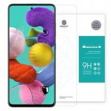 """Ypač Tvirtas Apsauginis Stiklas Iki Išlenkimo """"Nillkin Amazing 9H"""" Samsung Galaxy A51"""