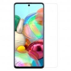 """Ypač Tvirtas Apsauginis Stiklas Iki Išlenkimo """"Nillkin Amazing 9H"""" Samsung Galaxy A71"""