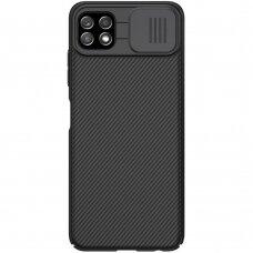 Dėklas Nillkin CamShield Case Slim Cover Samsung Galaxy A22 5G Juodas
