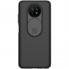 Dėklas Nillkin CamShield Case Slim Cover su kameros apsauga Xiaomi Redmi Note 9T 5G Juodas