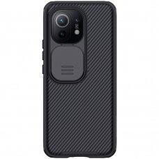 Dėklas Nillkin CamShield Pro Case Durable Cover su kameros apsauga Xiaomi Mi 11 Juodas