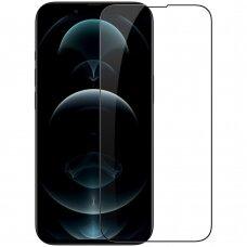Nillkin CP+PRO Ultra Thin  EKRANO APSAUGINIS GRŪDINTAS STIKLAS SU RĖMELIU 0,2 mm 9H for iPhone 13 Pro Max juodais kraštais