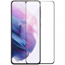 Nillkin CP+PRO Itin Plonas Apsauginis Ekrano Stiklas Su Rėmeliu 0,2 mm 9H Samsung Galaxy S21 5G Juodas