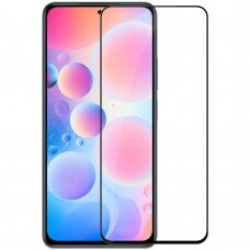 Apsauginis stiklas Nillkin CP+PRO Ultra Thin Full Coverage Tempered Glass with Frame 0,2 mm 9H for Xiaomi Poco F3 permatomas