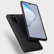 Pc Plastiko Dėklas Nillkin Super Frosted Shield Samsung Galaxy Note 20 Juodas