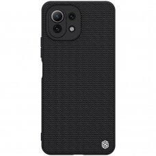 Dėklas Nillkin Textured Case dengtas nailonu Xiaomi Mi 11 Lite 5G Juodas