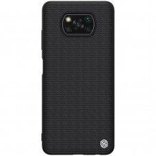 Dėklas Nillkin Textured Case Xiaomi Poco X3 NFC / Poco X3 Pro Juodas