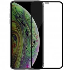 Nillkin 3D CP-MAX Ultra Thin pilnai dengiantis stiklas  0,33 MM 9H iPhone 11 Pro juodas (ctz009)