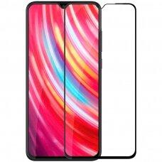 Nillkin 3D Cp-Max Ultra Thin Pilnai Dengiantis Stiklas  0,33 Mm 9H Xiaomi Mi Note 8 Pro Juodas