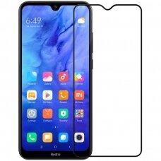 Nillkin 3D Cp-Max Ultra Thin Pilnai Dengiantis Stiklas  0,33 Mm 9H Xiaomi Mi Note 8T Juodais Kraštais