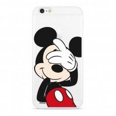 "Originalus Disney dėklas ""Mickey 003"" Xiaomi redmi Note 8T permatomas (DPCMIC6128) (erw45)"