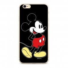 "Originalus Disney dėklas ""Mickey 027"" iPhone 8 Plus / iPhone 7 Plus juodas (DPCMIC18686) (gcl74)"