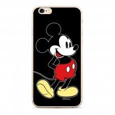 """Originalus Disney dėklas """"Mickey 027"""" Samsung Galaxy A70 juodas (DPCMIC18675) (pen81)"""