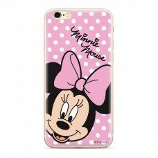 """Originalus Disney dėklas """"Minnie 008 """" Huawei P20 Lite rožinis (DPCMIN7522) (sny76)"""