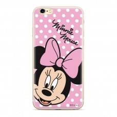 "Originalus Disney dėklas ""Minnie 008 "" iPhone 8 Plus / iPhone 7 Plus rožinis (DPCMIN7589) (gcl74)"