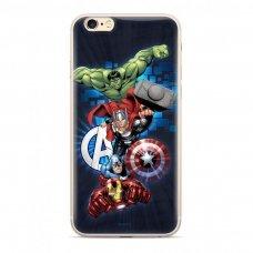 "Originalus Marvel dėklas ""Avengers 001 "" Huawei P20 Lite marineblau (MPCAVEN010) (sny76)"
