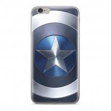"""Originalus Marvel dėklas """"Captain America 005  """" Huawei P Smart 2019 mėlynas (MPCCAPAM1602) (poe48) UCS089"""
