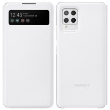 Samsung Smart S View Cover With Intelligent Display And skirta Samsung Galaxy A42 5G White (Ef-Ea426Pwegee)
