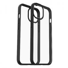 Dėklas OtterBox React iPhone 13 mini permatomas juodais kraštais