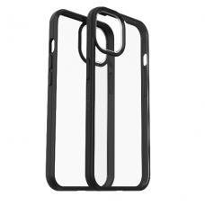Dėklas OtterBox React iPhone 13 Pro Max permtomas juodais kraštais