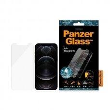 Ekrano Apsauginis Stiklas PanzerGlass Pro Standard Super + Antibacterial iPhone 12/12 Pro