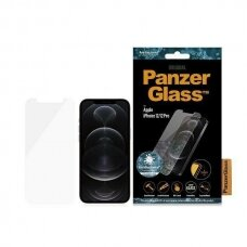 Ekrano Apsauginis Stiklas PanzerGlass Standard Super + Antibacterial iPhone 12/12 Pro