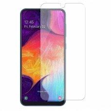 """Pilnai Dengiantis Lankstus Hibridinis Apsauginis Stiklas """"Wozinsky Flexi Nano"""" Samsung Galaxy A50 Skaidrus"""