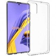 """Plonas gelinis Dėklas nugarėlė """"Ultra Clear 0.5mm"""" Samsung Galaxy A51 permatomas (lop20) UCS025"""
