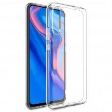"""Plonas Gelinis Dėklas Nugarėlė """"Ultra Clear 0.5Mm"""" Huawei P Smart Pro Permatomas"""