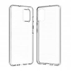 """Plonas Gelinis Dėklas Nugarėlė """"Ultra Clear 0.5Mm"""" Samsung Galaxy A71 Permatomas"""