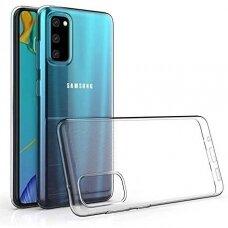 """Plonas Gelinis Dėklas Nugarėlė """"Ultra Clear 0.5Mm"""" Samsung Galaxy S20 Plus Permatomas"""