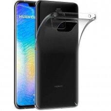 "Plonas Tpu Dėklas 0.5Mm ""Ultra Clear"" Huawei Mate 20 Pro Permatomas"
