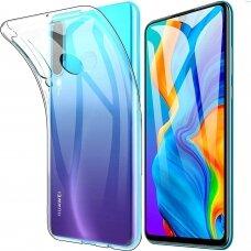 """Plonas Tpu Dėklas 0.5Mm """"Ultra Clear"""" Huawei P30 Lite Permatomas"""
