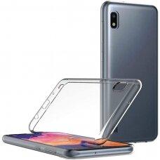 "Plonas Tpu Dėklas 0.5Mm ""Ultra Clear"" Samsung Galaxy A10 Permatomas"