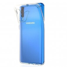 "Plonas Tpu Dėklas 0.5Mm ""Ultra Clear"" Samsung Galaxy A70 Permatomas"