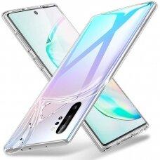 """Plonas Tpu Dėklas 0.5Mm """"Ultra Clear"""" Samsung Galaxy Note 10 Plus Permatomas"""