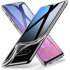 """Plonas Tpu Dėklas 0.5Mm """"Ultra Clear"""" Samsung Galaxy S10E Permatomas"""