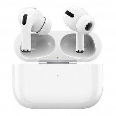 Proda Earbuds Bevielės Bluetooth Ausinės TWS Triukšmą slopinantis ANC Balta (PD-BT101 white)