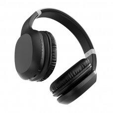 Proda Manmo Bevielės Bluetooth Ausinės Juoda (PD-BH500 black)