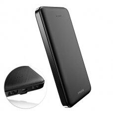 Išorinė baterija Proda power bank 10000mAh 2x USB black (PD-P39 black)