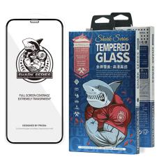 Proda Shark Full Glue Pilnai Ekraną Dengiantis Grūdintas Stiklas, Pritaikytas Dėklui Iphone 12 Pro / Iphone 12 Juodais Kraštais