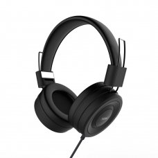 Remax 4D Headphones Rm-805 Wired Headset Over-Ear Headphones Black