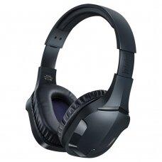 Remax žaidimų bevielės Bluetooth ausinės Mėlyna (RB-750HB blue)