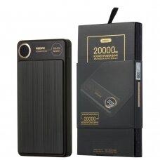 Remax Kooker Išorinė Baterija 20000 mAh 2x USB Juodas (RPP-59 black)