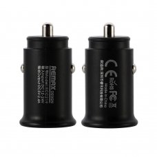 REMAX ROKI SERIES CAR CHARGER RCC219 MINI UNIVERSAL CAR CHARGER 2X USB 2.4A BLACK